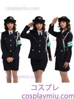 Handsome Lady Police Uniform Costume