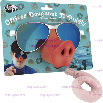 Glasses Doughnut Mcpiggley