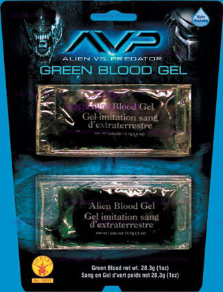 Alien Green Blood