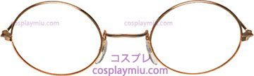 Glasses John Gold Clear