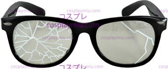 Glasses Broken Blk/Clr