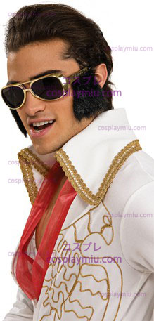 Elvis Glasses With Sideburns