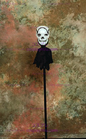 Light-Up Skull Staff -48