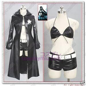 Vocaloid Black Rock Shooter Cosplay Costume