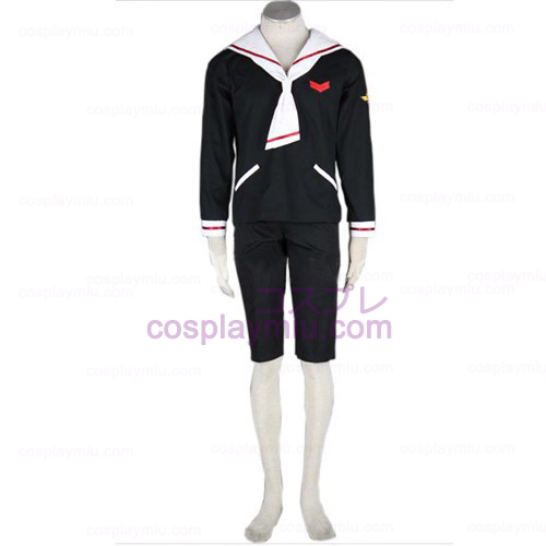 CardCaptor Sakura Boys Winter Cosplay Costume