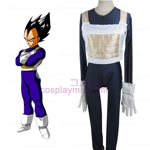 Dragon Ball Vegeta Battle Dress Cosplay Costume