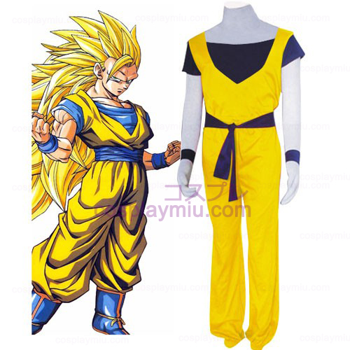 Dragon Ball Cotton Cosplay Costume