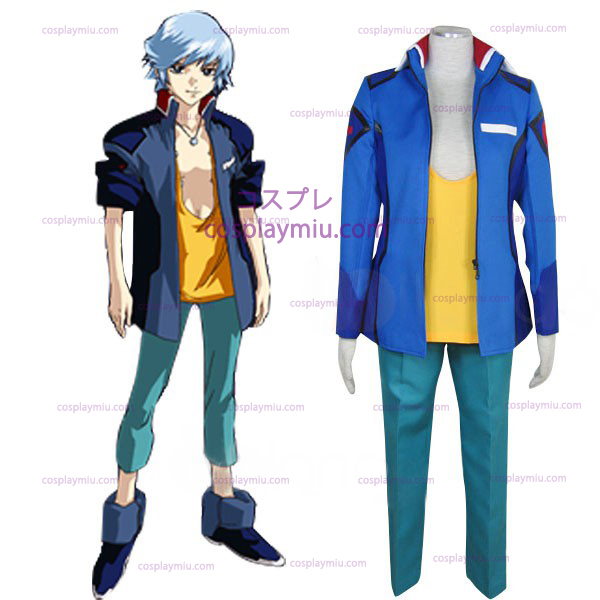 Gundam Seed Destiny Earth Alliance Male Uniform Cosplay Costume